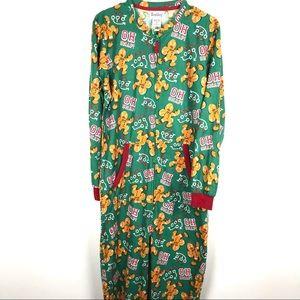 Wembley S/M Zip Up Onsie Body Suit Christmas Xmas